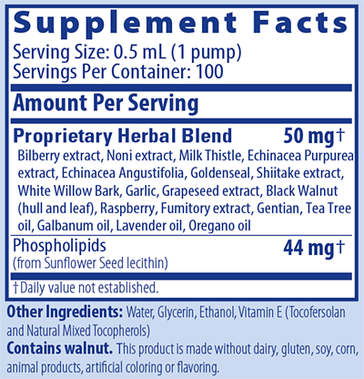 Biocidin® LSF - Potent Broad-Spectrum Liposomal Formula